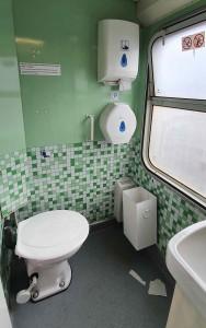 Záchod ve voze 449 BDs