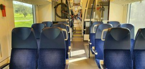 Sedadla ve voze RegioPanter 640