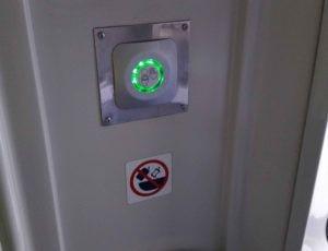 Záchod ve voze 854