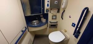 Záchod ve voze Bfbrdtn 794