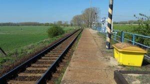 Jevišovka nástupiště