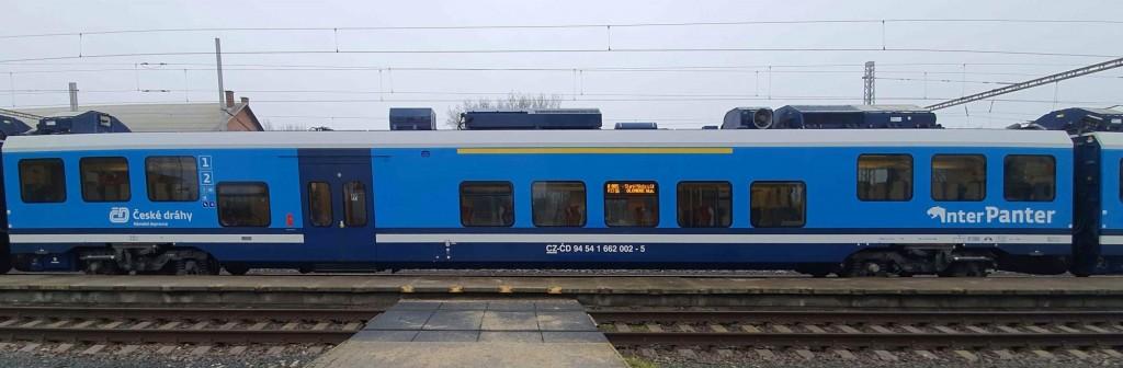Vůz 662 soupravy InterPanter