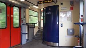 Záchod ve voze 914 RegioNova