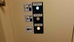 Ovládání záchodu ve voze RegioNova 914