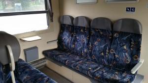Sedadla vozu 914