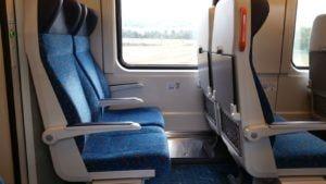 Sedadla vozu Bdmpz 227