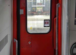 Dveře vozu Bpmmbdz 284