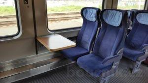 Sededla ve voze Bpmmbdz 284