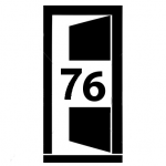 Pikrogram dveří šířky 76 cm
