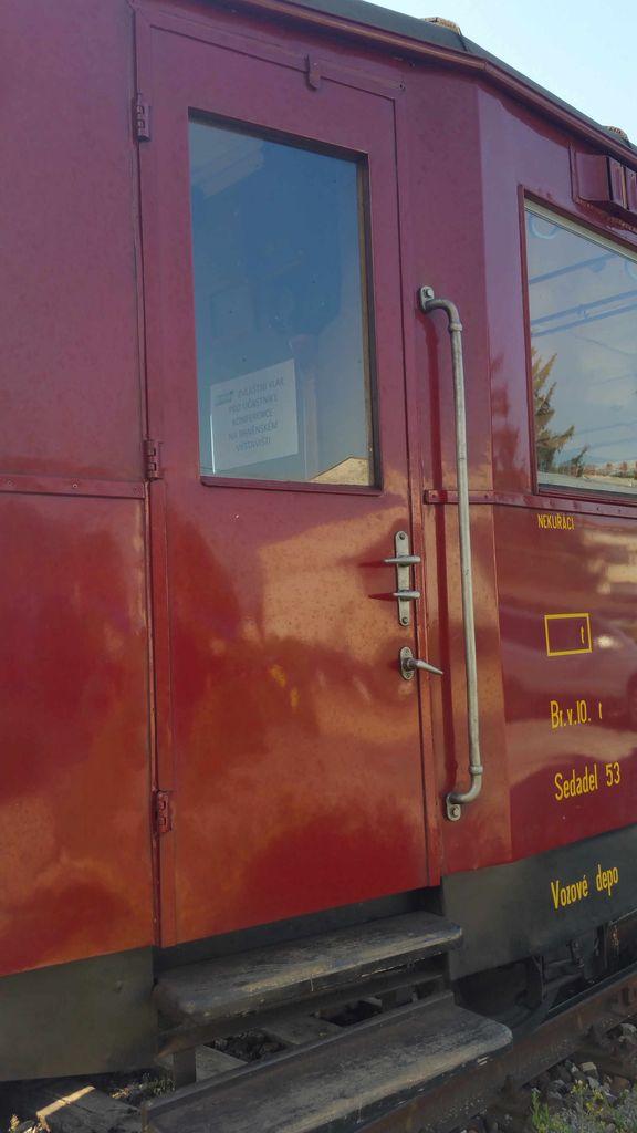 Vnější dveře vozu Blm 5