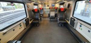 Vozičkáři ve vlaku RailJet