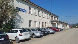Nádraží v Čebíně