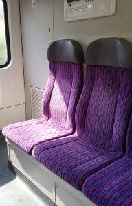 Sezení ve voze CityElefant 971