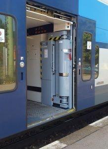 Dveře vozu CityElefant 971