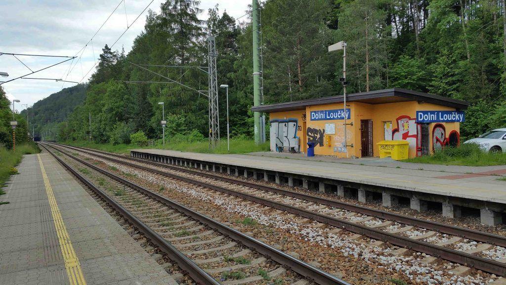 Dolní Loučky nádraží
