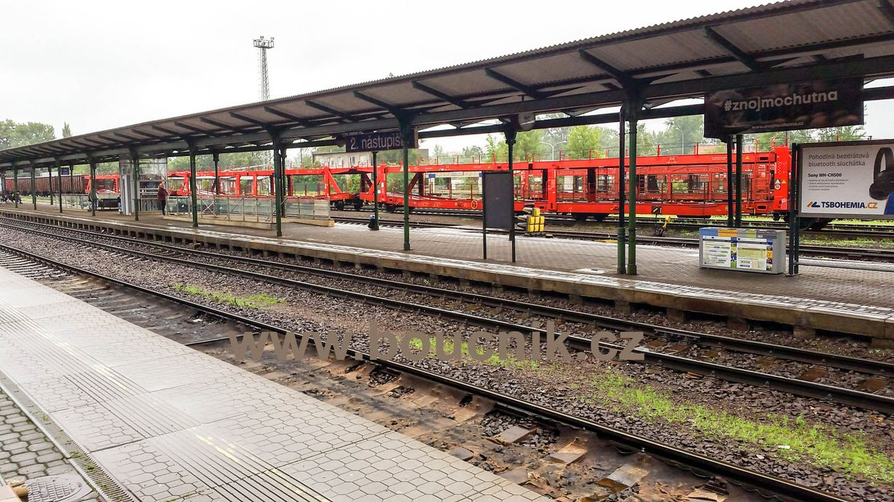 2.nástupiště na nádraží ve Frýdku-Místku