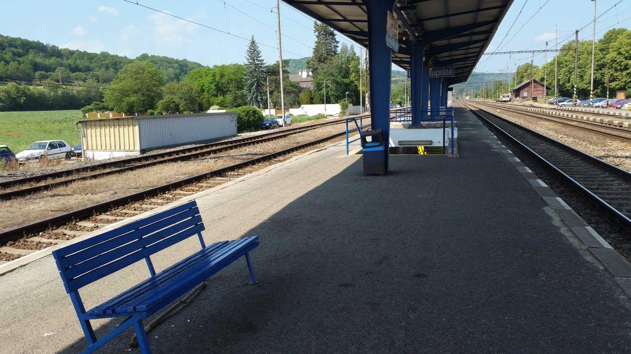 Karlštejn, 2.nástupiště