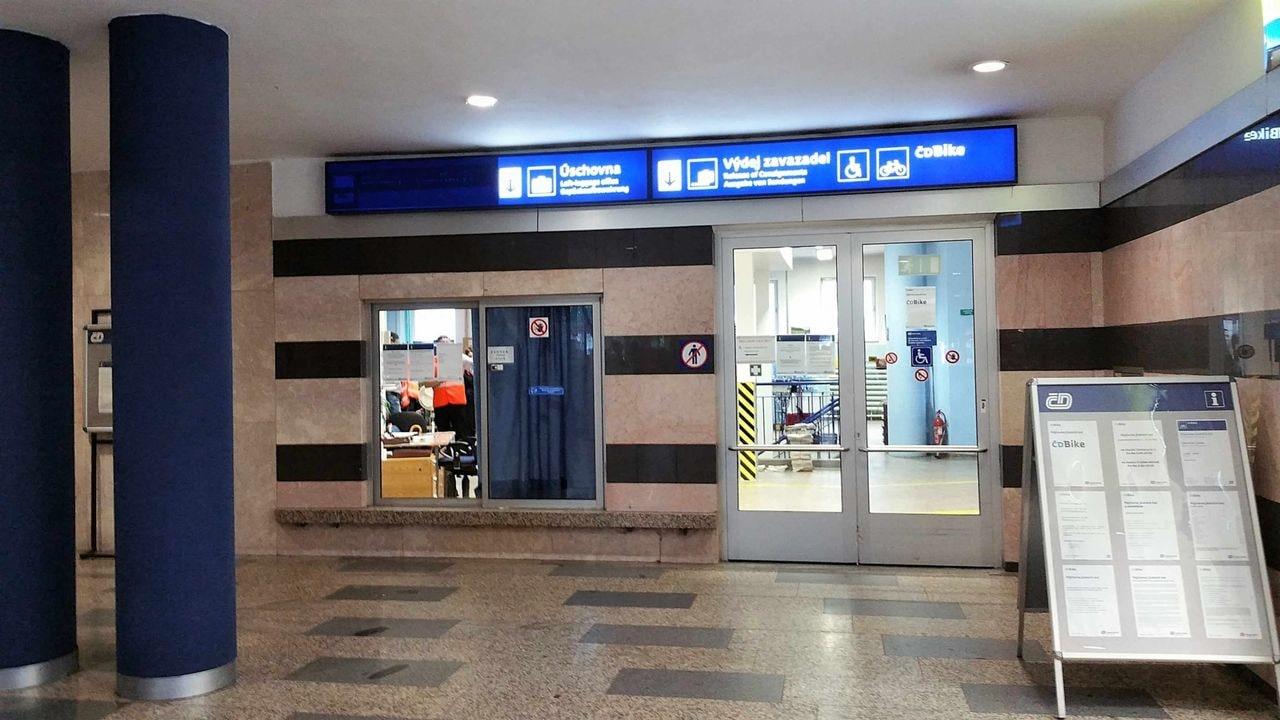 Úschovna zavazadel na nádraží Ostrava hl.n.