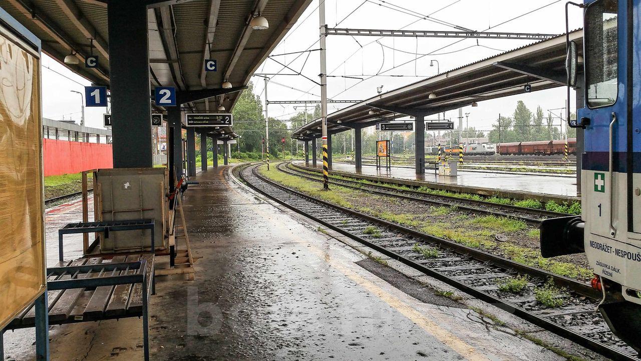 Ostrava hl.nádraží IV.nástupiště