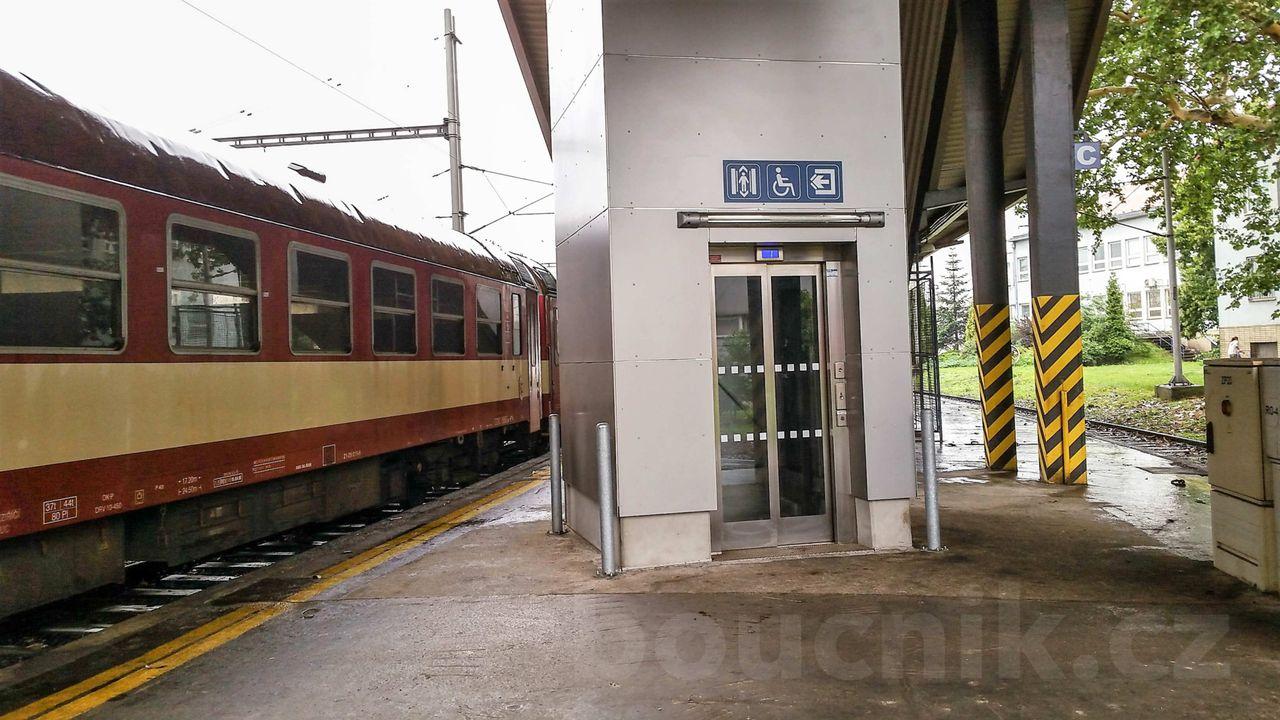 Výtah na IV.nástupiště, Ostrava hl.n.
