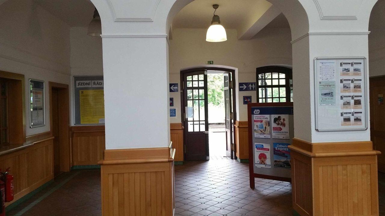 Vstup na nádraží Ostrava-střed