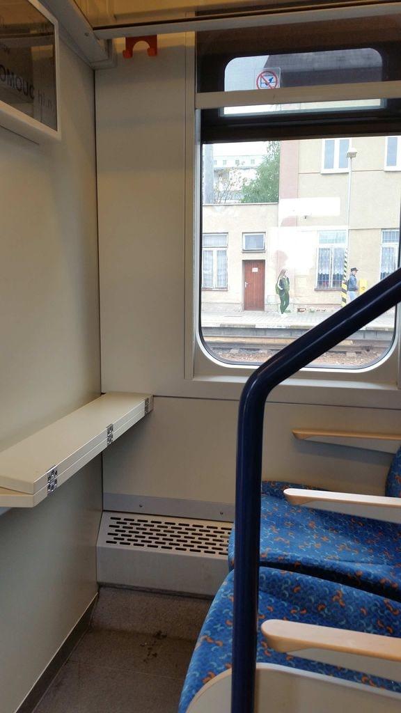 Sedadla ve voze InterPanter 660
