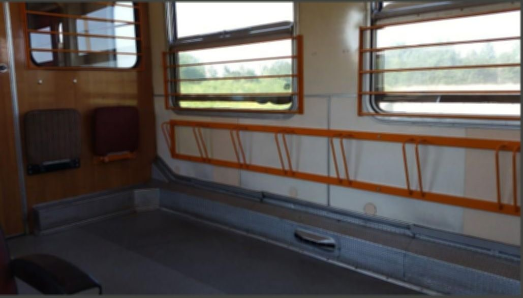 Místa pro kola ve voze Bdtee 286