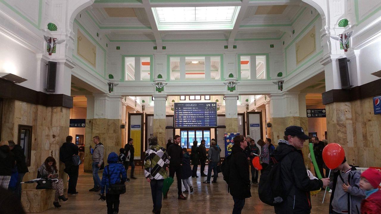Na nádraží v Bohumíně