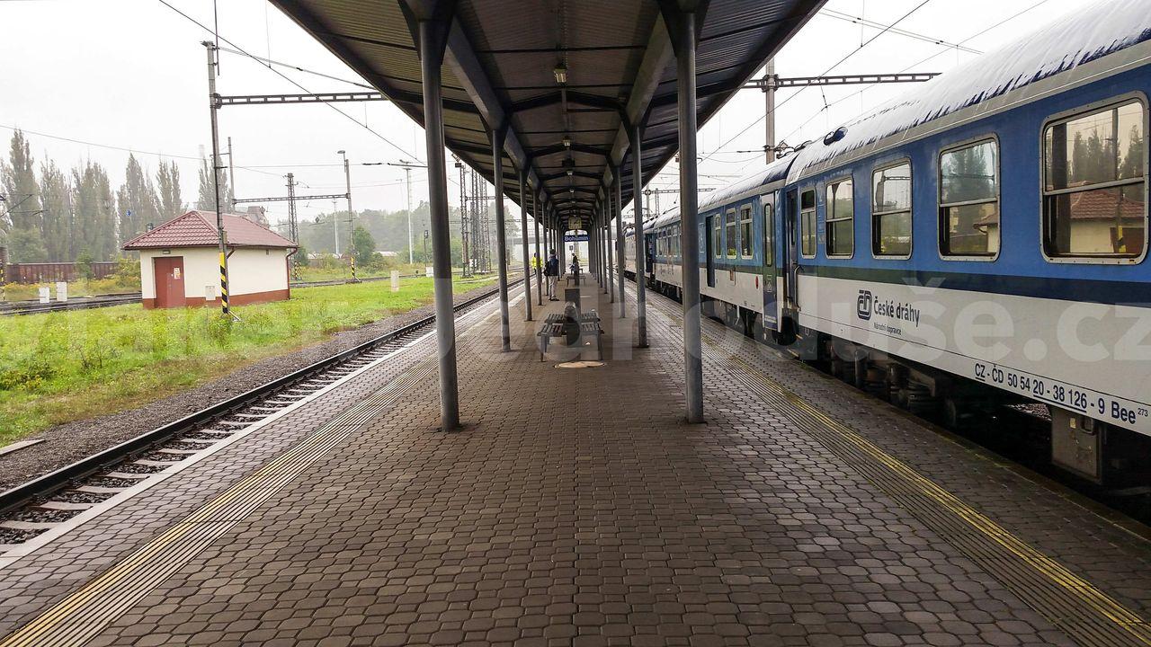 4.nástupiště v Bohumíně