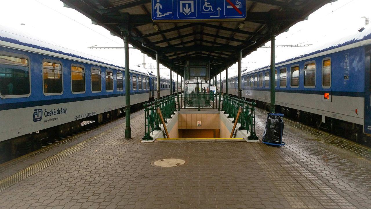 3.nástupiště na nádraží v Bohumíně