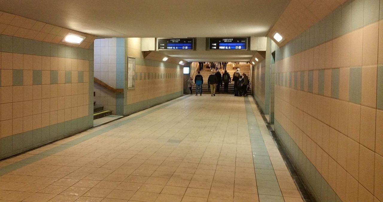 Bohumínské nádraží - podchod