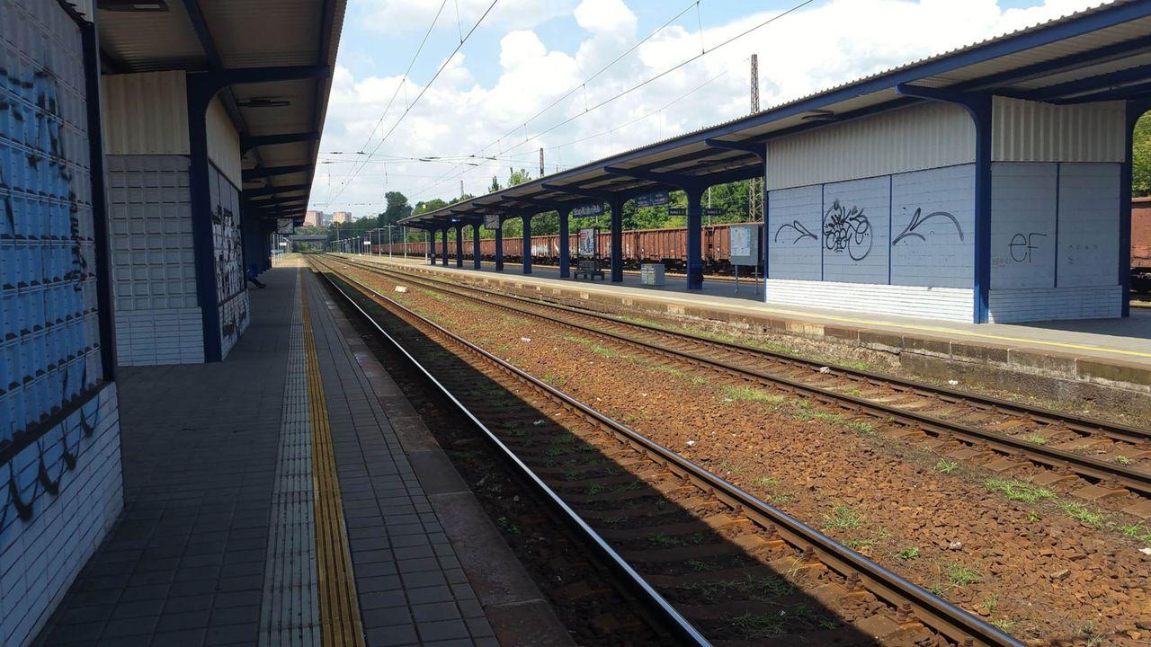 2.nástupiště v Brně-Králově Poli