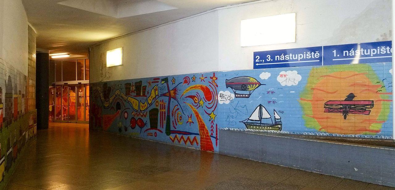 Popis nádraží Brno-Královo Pole