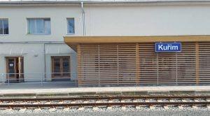 Train station Kuřim