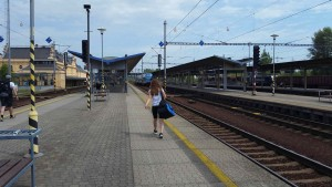 Train station Ostrava Svinov