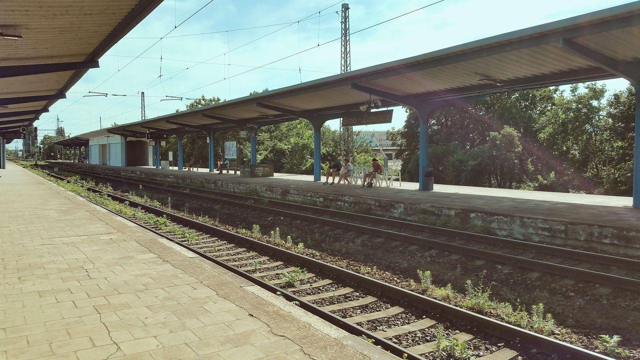 Brno-Židenice. třetí nástupiště