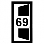 Dveře 69 cm