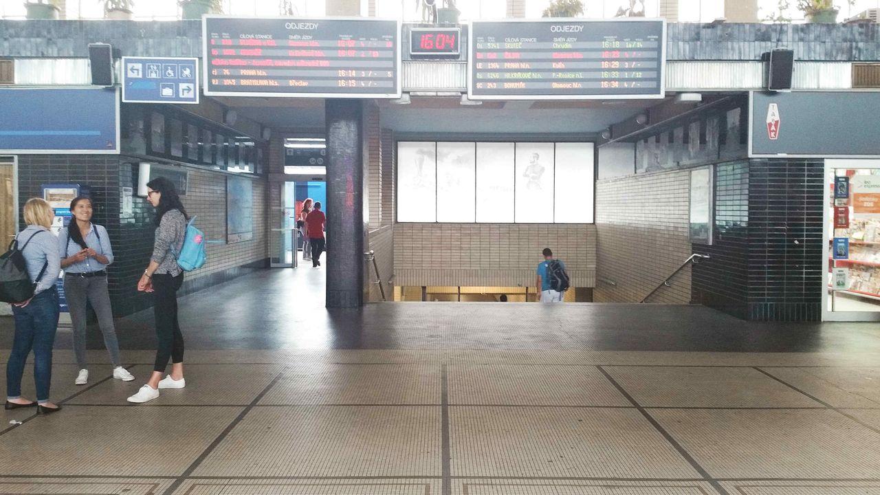 Pardubice train station