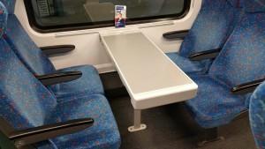 Sedadla ve voze Bmpz 891