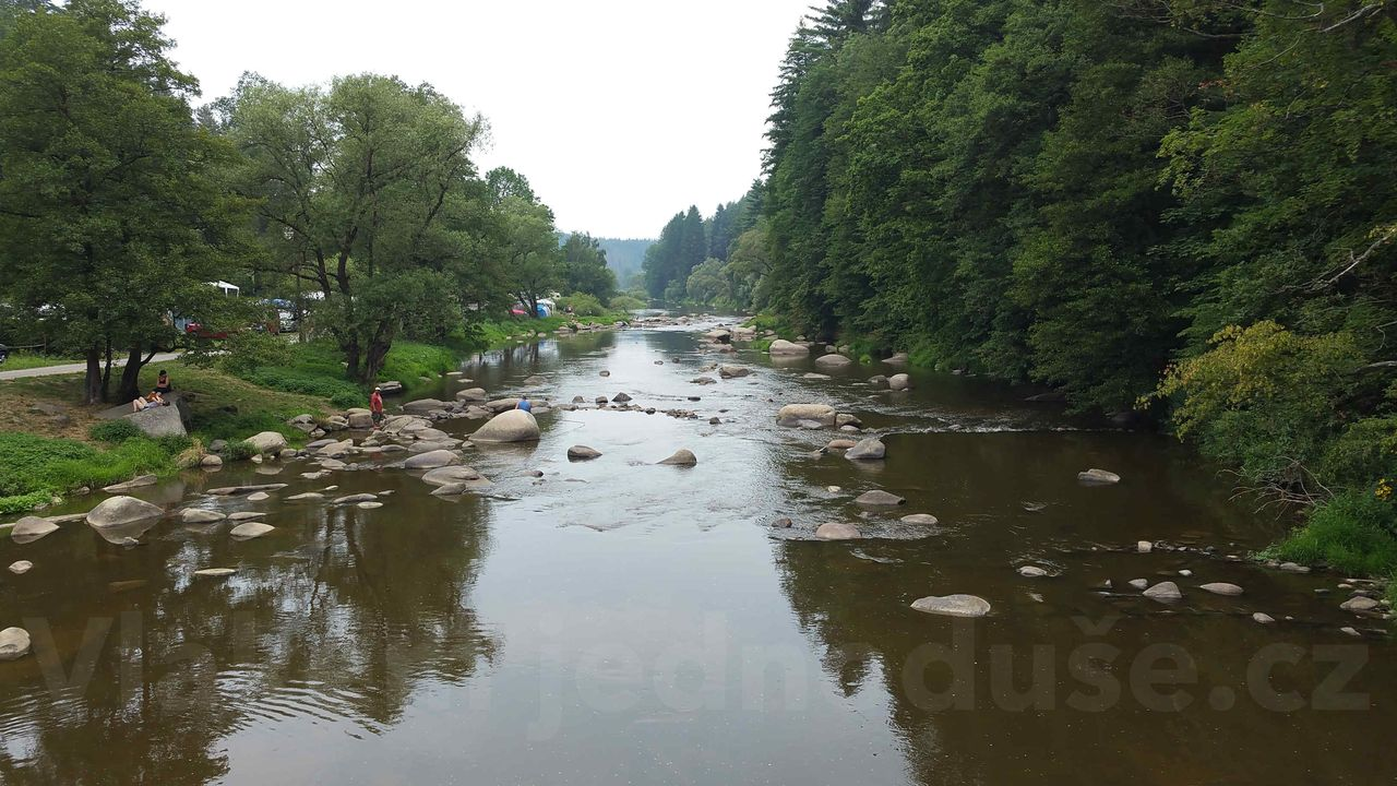 Řeka Sázava Stvořidla