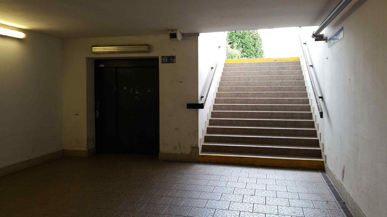 Suchdol nad Odrou, podchod pod nádražím