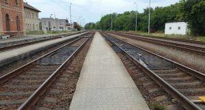 Suchdol nad Odrou, train station