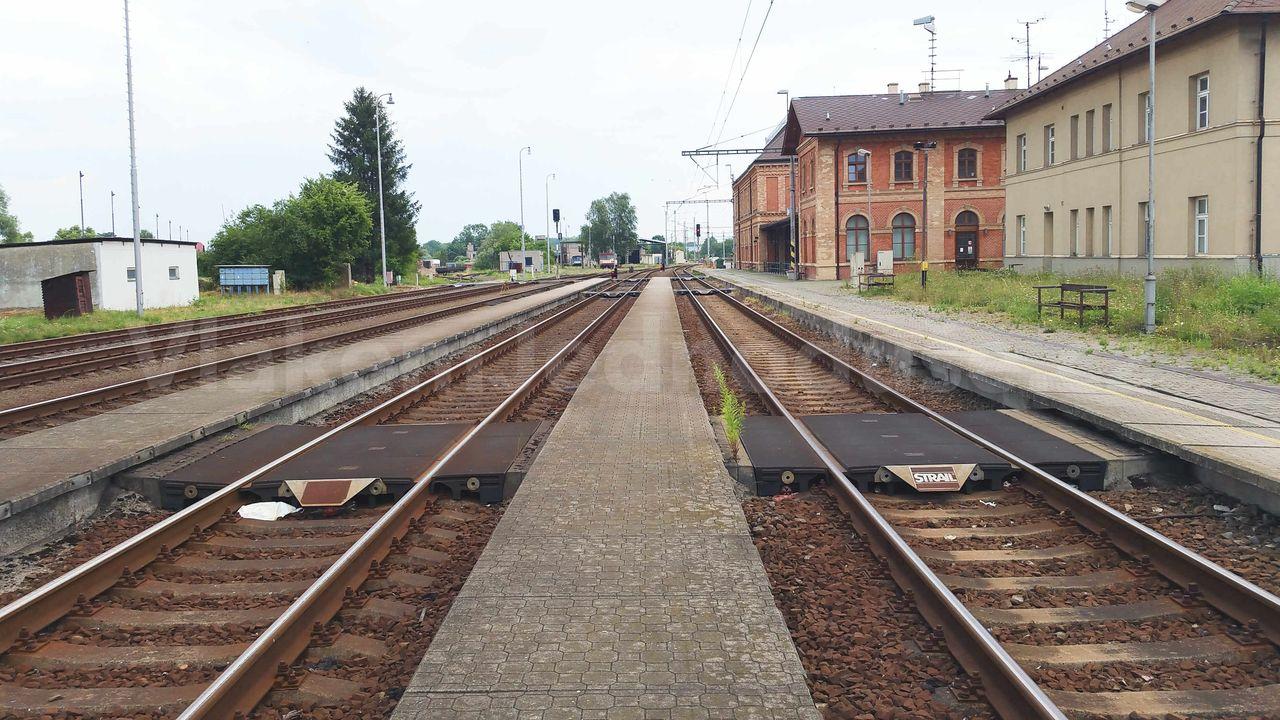 Suchdol nad Odrou, nádraží