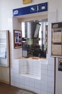 Train station Světlá nad Sázavou