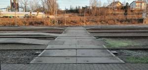 Přístup na nástupiště ve Světlé nad Sázavou