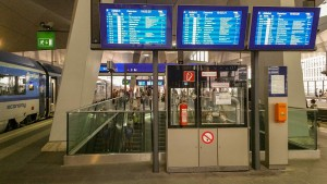 Wien Hauptbahnhof - popis a foto nádraží