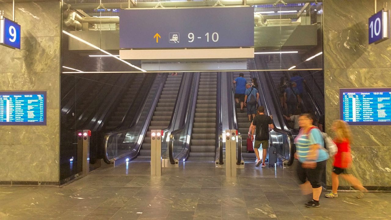 Wien Hauptbahnhof - description