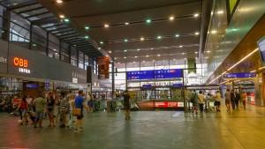 Wien Hauptbahnhof - popis nádraží