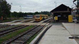 Zruč nad Sázavou vlaky