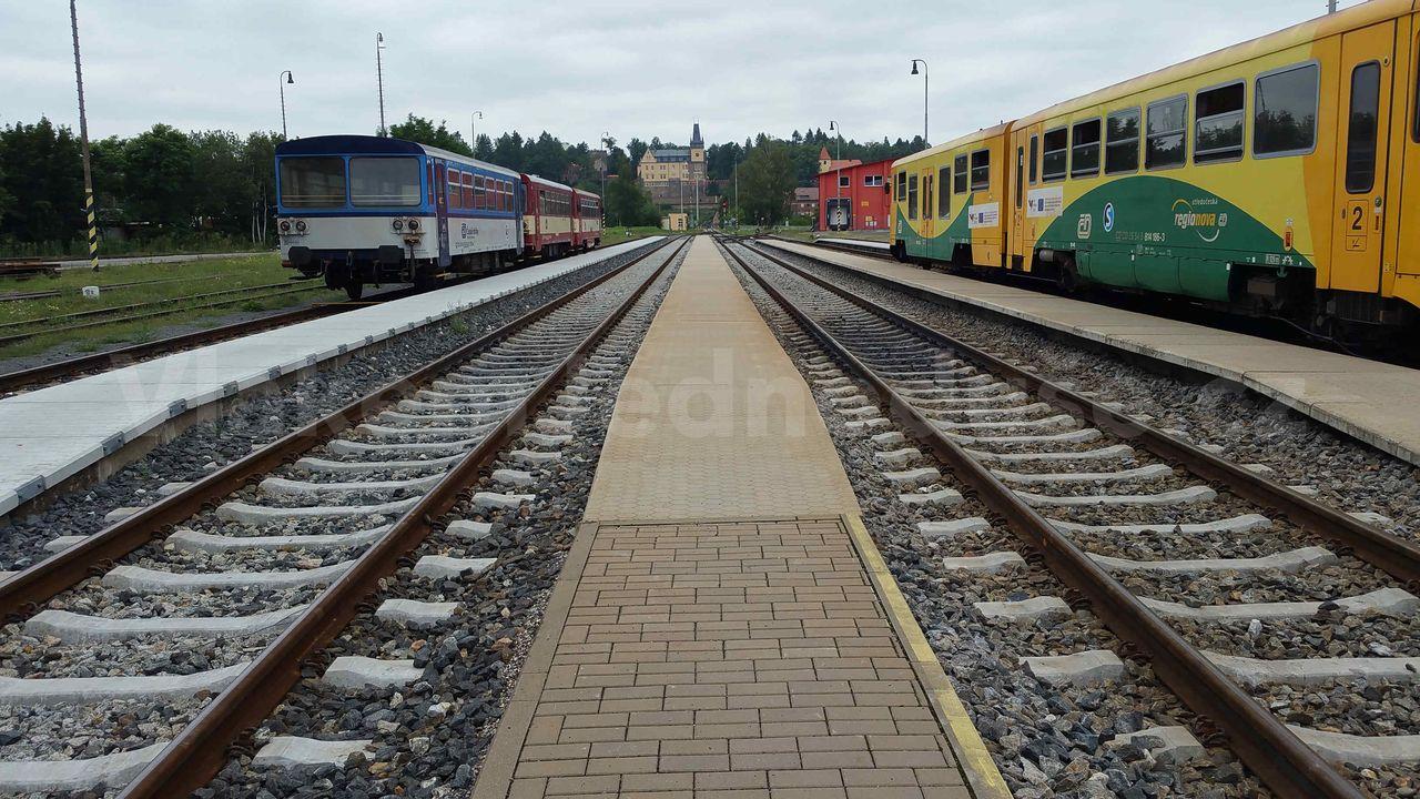 Zruč nad Sázavou train station